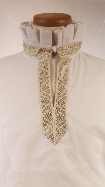 Renaissance Shirt with Trim